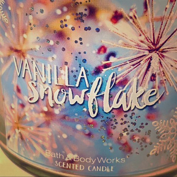 Bath & Body Works Other - USED Vanilla Snowflake- Bath and Body Works